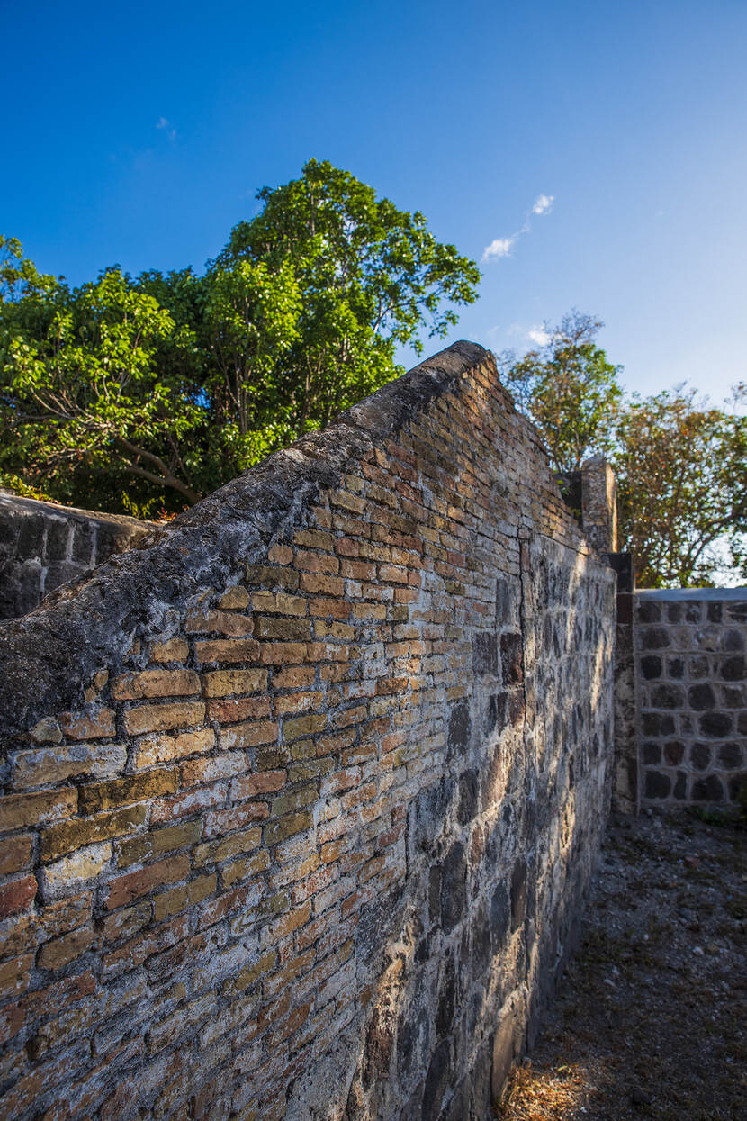 remains of an historical building