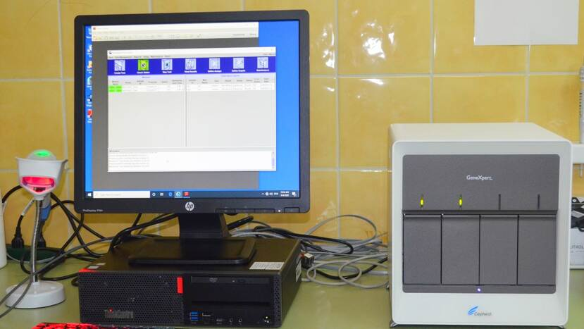 Polymerase Chain Reaction (PCR) test equipment